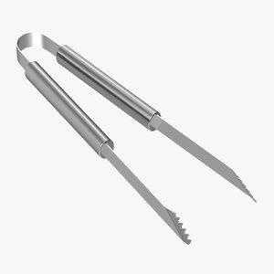 bbq tools tongs - obj