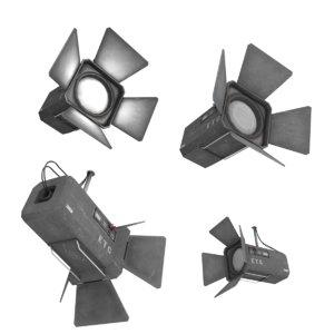 3d model stage lights