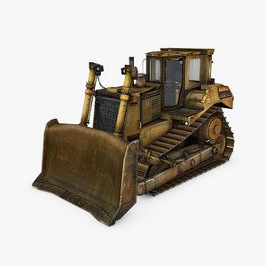 3ds bulldozer d9t