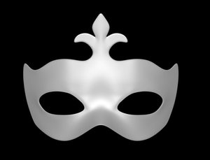 3d model mask carnival