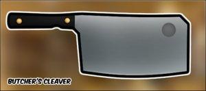 butcher s cleaver 3d model