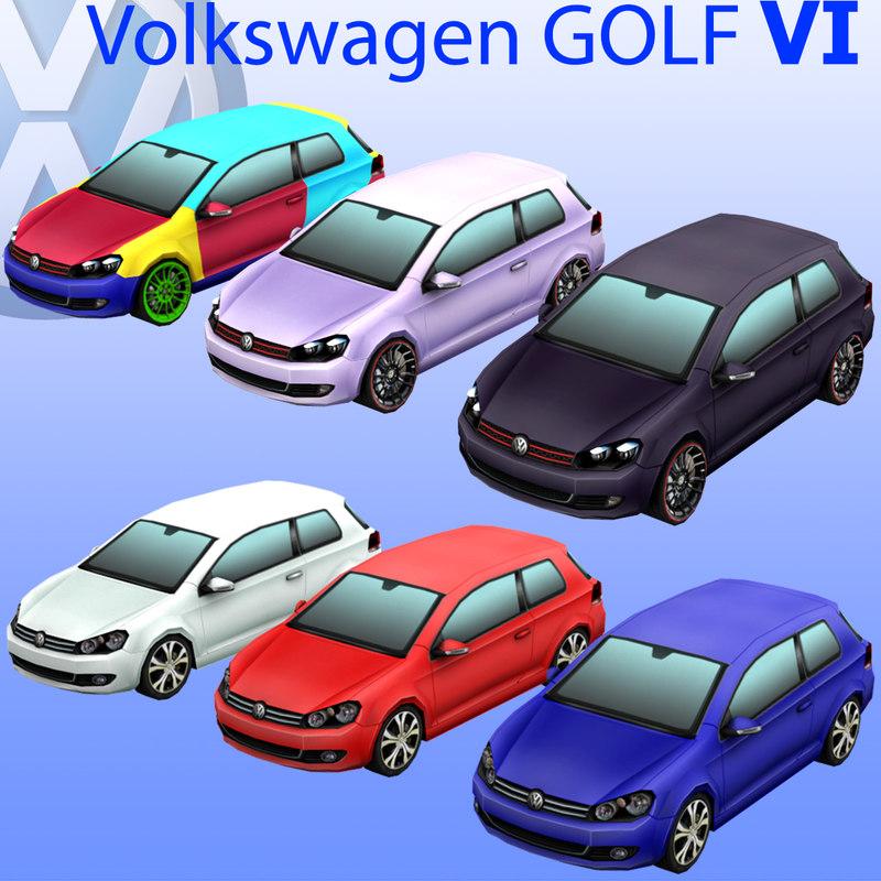 max volkswagen golf car