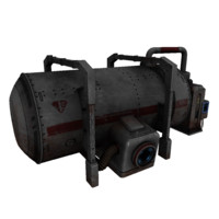 3d model cistern electronic
