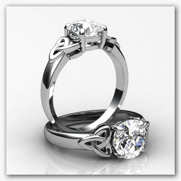 3d celtic ring