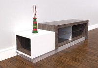 tv stand-04 stand cabinet 3d max