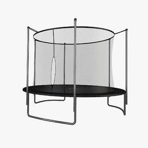 outdoor trampoline 3d model