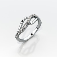 wedding ring gemstones 3ds
