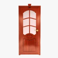 wood door 3d max