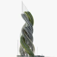 Futuristic Skyscraper 8