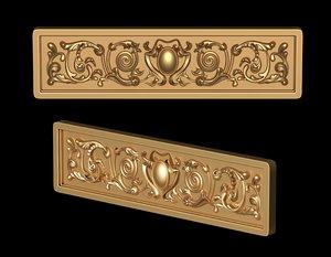 obj decor carved