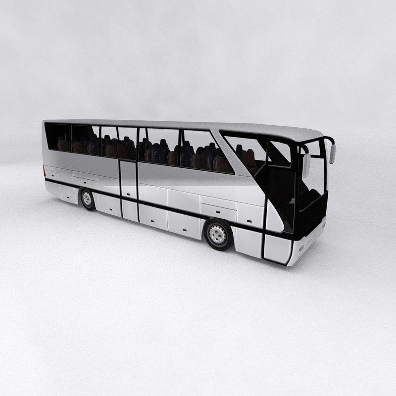 coach bus 3d model