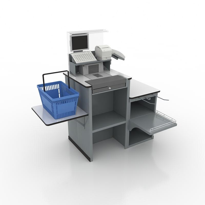 3d checkout express model