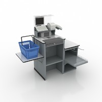 3d checkout express model