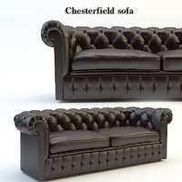 chesterfield traditional tufted 3d max