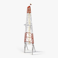 fracking gas platform tower max