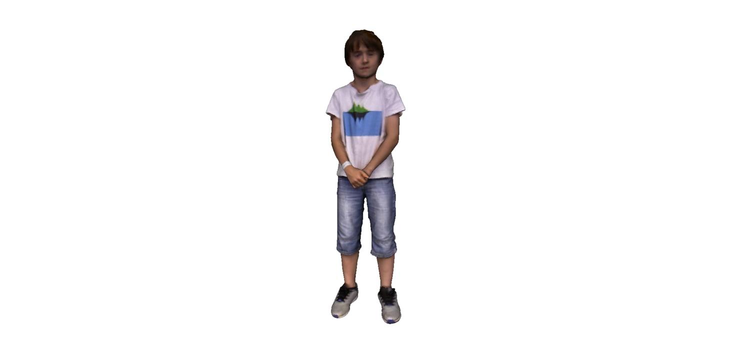 3d kid model