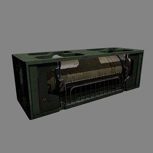 3d model of container cistern