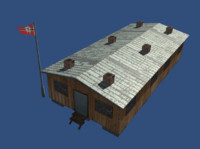barracks world war 2 3d x
