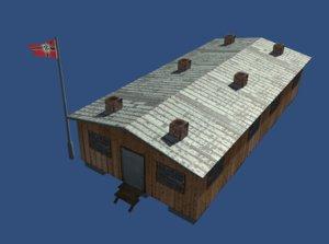 barracks world war 2 3d x