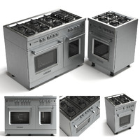 oven gas range cookers 3d max