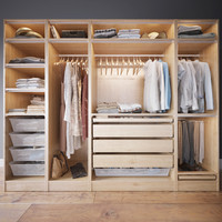 Wardrobe with Clothes(1)