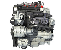 Volvo Supercharged Diesel Engine S60 T6 Drive-E
