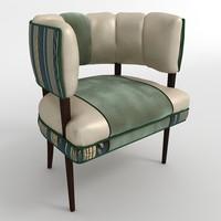 3d chair gilbert rohde