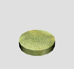 3d polish pad sponge