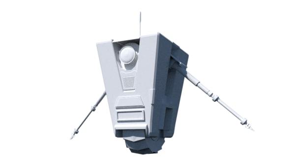 claptrap 3d model