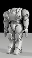 3d robo model