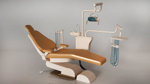 dental operatory rendering 3d fbx