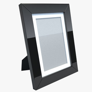 obj realistic picture frame