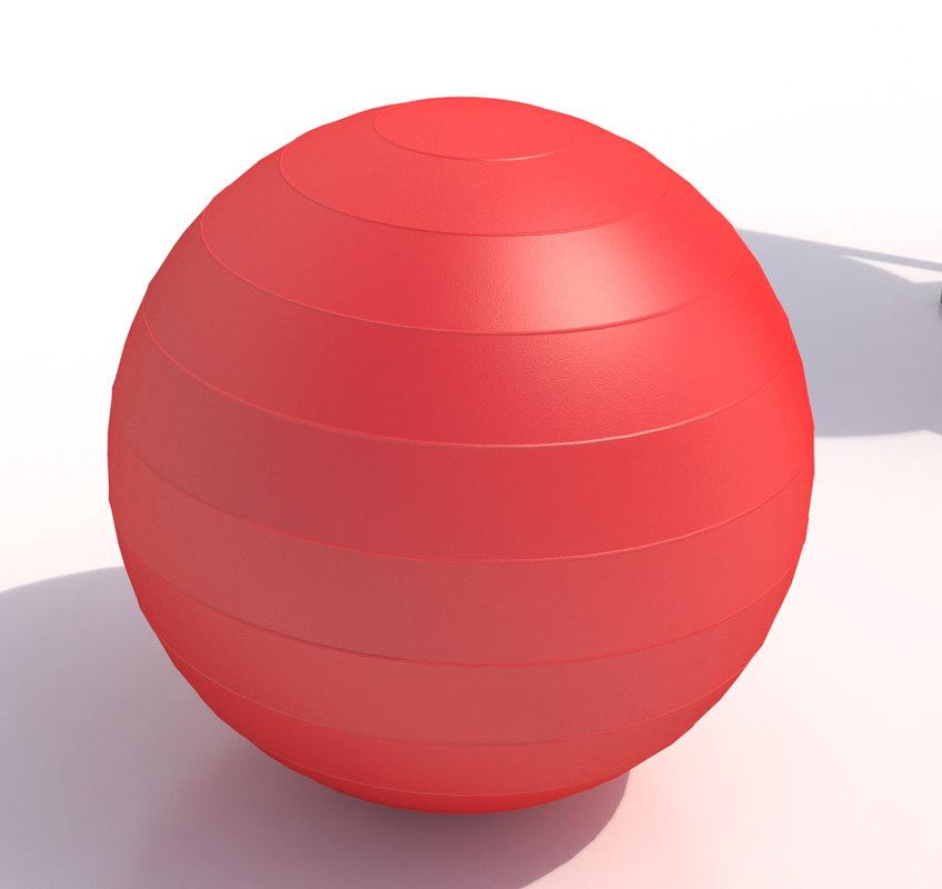 3d max swiss ball