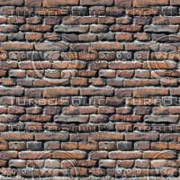 Brick wall rough texture