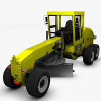 concept loader 3d model