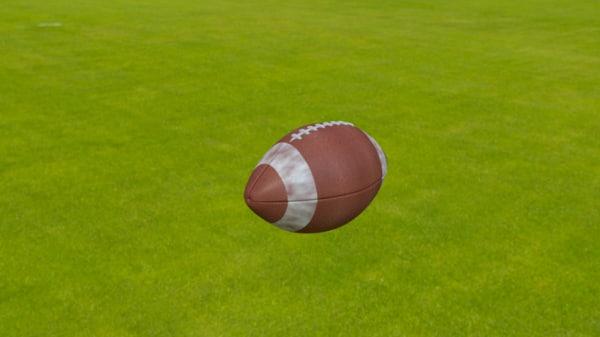 american footbal ball 3ds