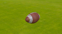 american footbal ball 3ds