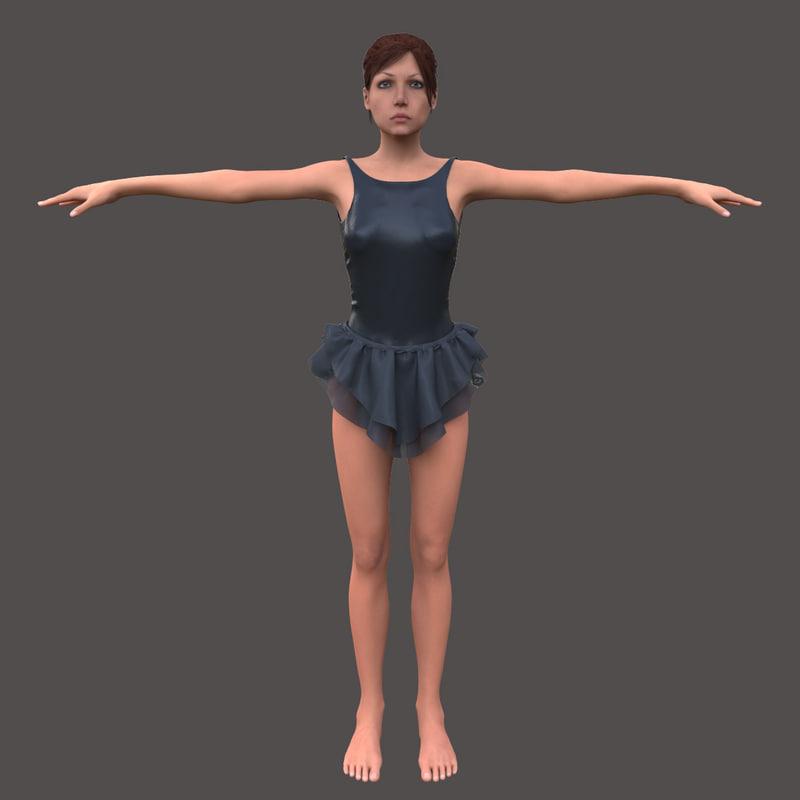 max female body