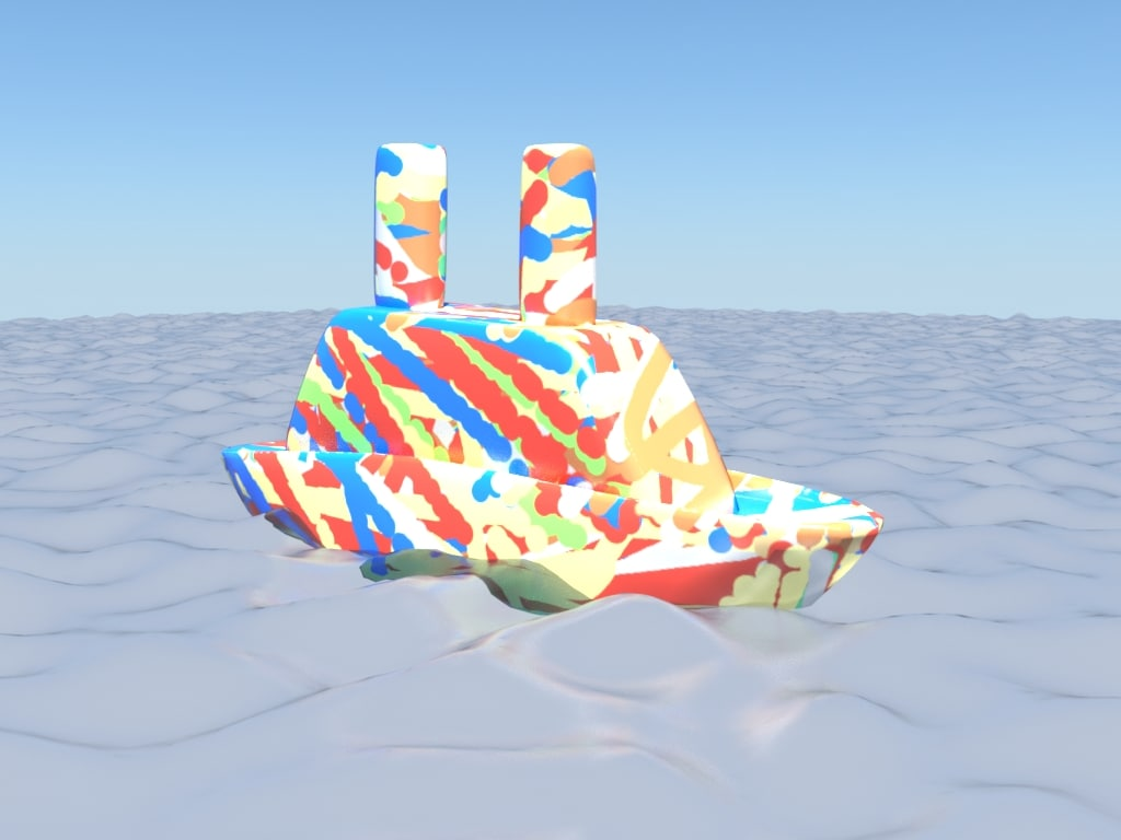 little ship 3d max