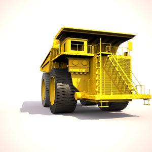 cat mining truck 3d max
