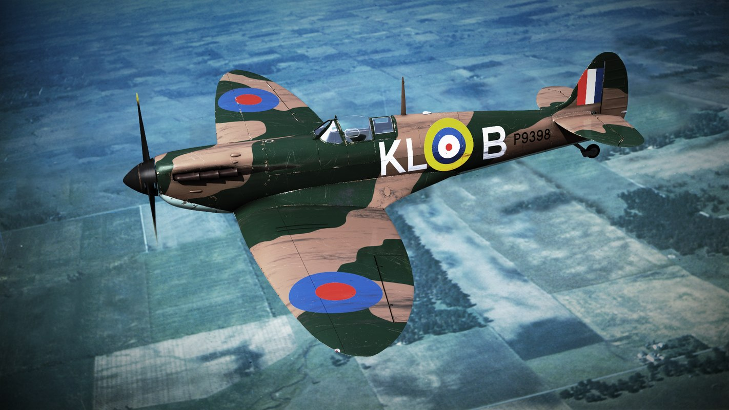supermarine spitfire squadron 3d lwo