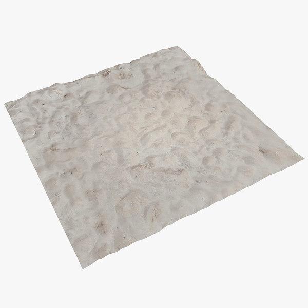 sand area 3d model