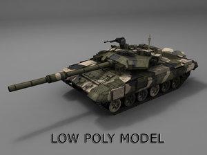 t-90 russian tank fbx
