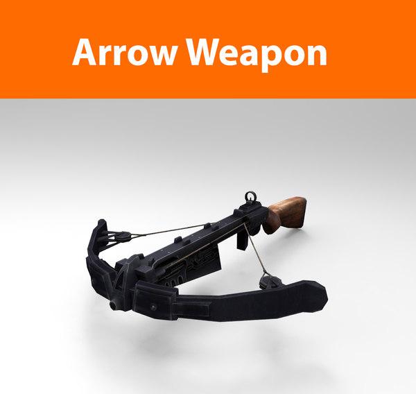 arrow-weapon haigh ready 3d model