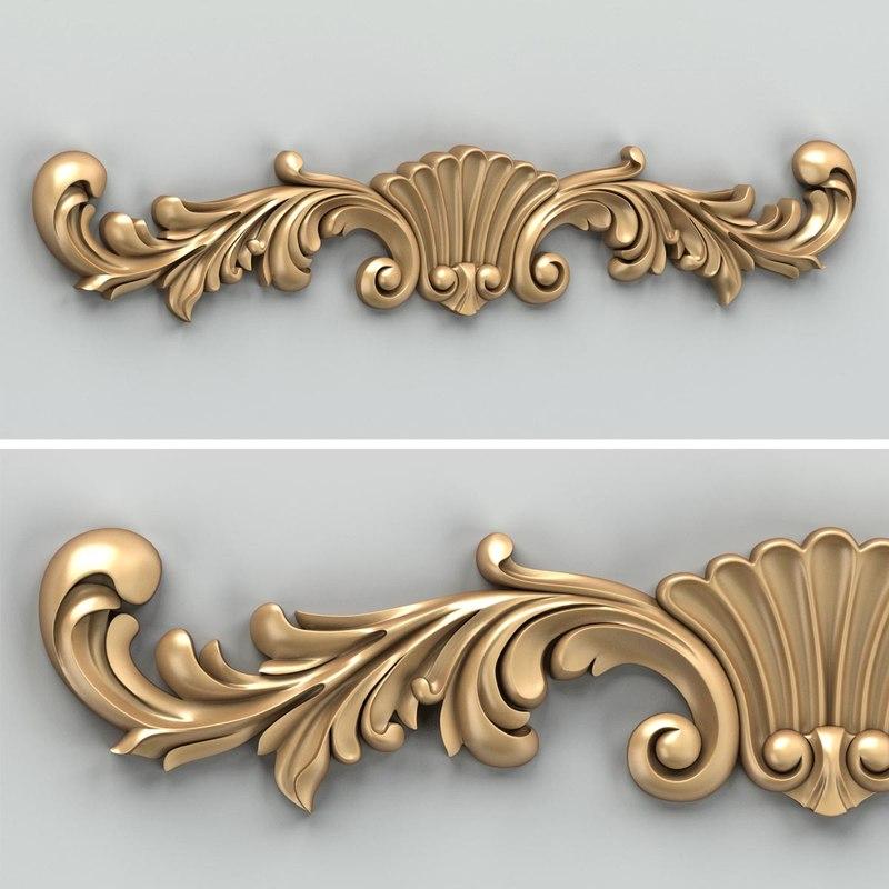 max carved horizontal decor