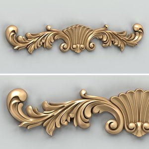 max carved horizontal decor