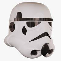 3d stormtrooper helmet model