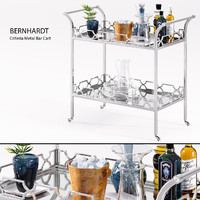 Bernhardt - Criteria Metal Bar Cart