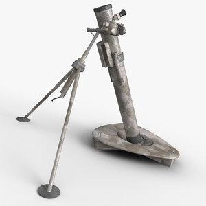 3d weapon model