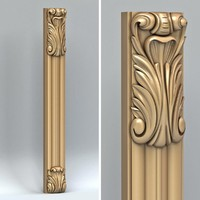 3d carved pillar